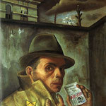 Autoportrait au passeport juif
