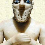 La statue d'Ebih ll l'Intendant