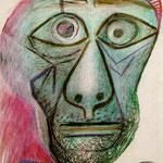 Autoportrait face à la mort
