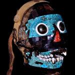 Masque en mosaïque de Tezcatlipoca