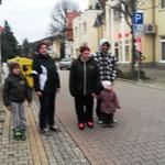 Wünschendorf an der Elster Heimat- und Verschönerungsverein Wünschendorf/Elster und Umgebung e.V. Weihnachtsmann in der Poststraße