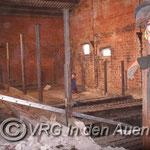 Umbau des alten Bullenstalls in einen Pferdestall