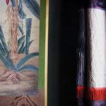 tenture L.Sallaberry - détail papier peint Iksel