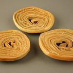 Cinnamon Rolls- after baking (salt firing)