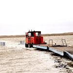 Sturmflut / Hochwasser Wangerooge