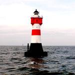 Leuchtturm Roter Sand nördlich vor Wangerooge