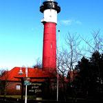 Alter Leuchtturm Wangerooge bei Sonne