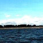 Wangerooge vom Boot aus