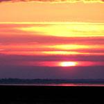 Sonnenuntergang von Wangerooge