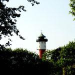 Alter Leuchtturm Wangerooge aus der Ferne