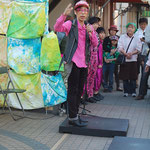 HIDEBOHタップダンススタジオ路上ライブ