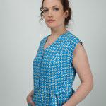 détail mancheron/ blouse coton Macaron