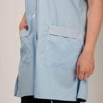 détail poche blouse Valy