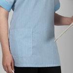 détail poche blouse tunique Zenith