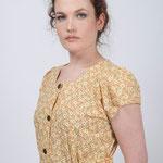 Détail blouse à manchettes MELANIE