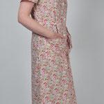 Mélodie blouse coton imprimé clair