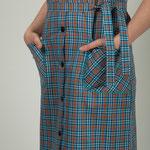 passepoil uni/poches blouse Malaga
