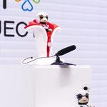 トヨタのコミュニケーションロボット「KIROBO MINI」たち