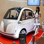 岐阜県のベンチャー企業「STYLE-D」が出展した「piana(ピアーナ)」の電源は、マグネシウム電池