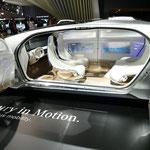 メルセデス・ベンツのコンセプトカー「F 015 Luxury in Motion」
