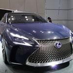 レクサスの燃料電池コンセプトカー「LC-FC」