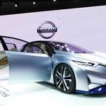 日産の「ニッサンIDSコンセプト」。EV技術と最先端の自動運転技術を装備