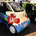 宮古島市で走るホンダの超小型電気自動車「MC-β」