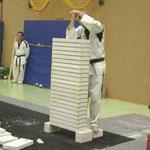 Konzentration vor den Weltrekord Versuch