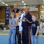 Erfolgreichster Teilnehmer Patrizio Milia und der Jüngste Teilnehmer Janik Skeyde WM 2007