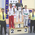 Uwe Marsch Fight Club Milia Kämpfer und 5-maliger Judo Stadtmeister