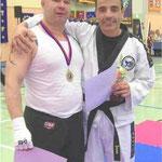 Juan Rechts Ehemaliger Co. Trainer