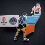 Volkswagen Beijing 2008 - Tischtennis Doppel Pin 1