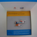 Volkswagen Beijing 2008 - Tischtennis Einzel Pin Set Box