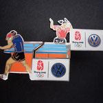 Volkswagen Beijing 2008 - Tischtennis Einzel Pin Set