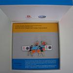 Volkswagen Beijing 2008 - Tischtennis Doppel Pin Set Box
