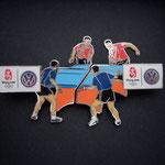 Volkswagen Beijing 2008 - Tischtennis Doppel Pin Set