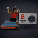 Volkswagen Beijing 2008 - Tischtennis Einzel Pin 2