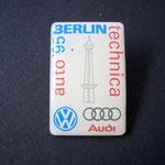 VW Pin Auto Technika Berlin 1995 Emblem weiß