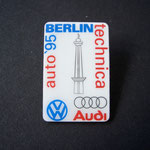 VW Pin Auto Technika Berlin 1995 Emblem blau