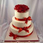 Свадебный: Аромат красных роз Песочный с разными добавками. Шоколадный с творожным кремом и фруктами. Медово-лимонный Мастика 7,6кг