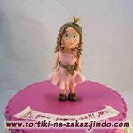 Маленькая принцесса Сникерс с арахисом. Мастика 2,5кг