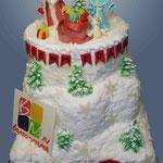 Волгомамский новогодний торт