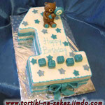 Единичка: happy birthday Сникерс с арахисом. Мастика 3кг