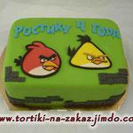 Angry Birds Сникерс с арахисом. Мастика. 2,7кг