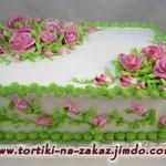 Хоровод роз Сникерс Белковый крем 6кг