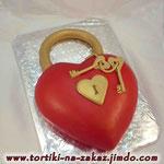 Ключи от сердца Сникерс Мастика 2,5кг