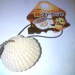 ホタテの貝殻が閉じるんです♪