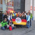 Fanclub & Friends bei der WM 2011 in Frankfurt