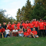 Gruppenfoto beim Sommerfest 2013