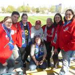 CL-Halbfinale 2015 - Unterstützung aus Leverkusen